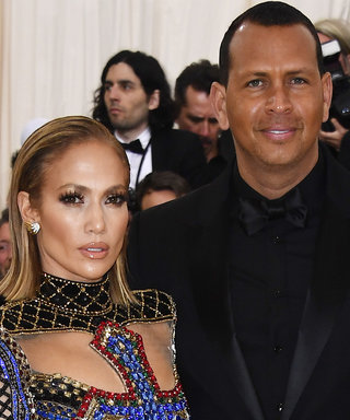 Jennifer Lopez and Alex Rodriguez Coordinated in Couture at The Met Gala