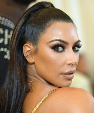 Kim Kardashian West Looked Like a Literal Golden Statue at the Met Gala