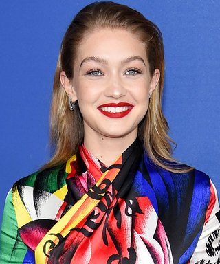 Gigi Hadid Wore a Rainbow Catsuit That Must Be Seen to Be Believed