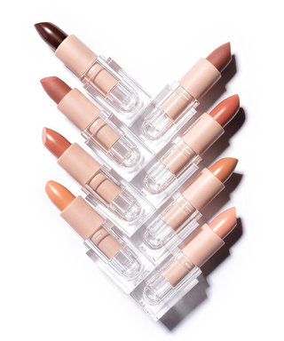 We Put All 8 of Kim Kardashian's Nude Lipsticks to the Test