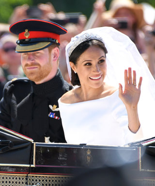 Meghan Markle's Wedding Veil Honored Her First Date with Prince Harry, and Nobody Noticed