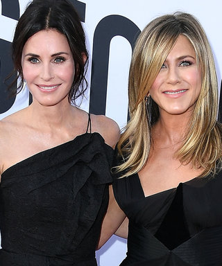 Jennifer Aniston and Courteney Cox Gave Us the Glamorous Friends Reunion We Needed