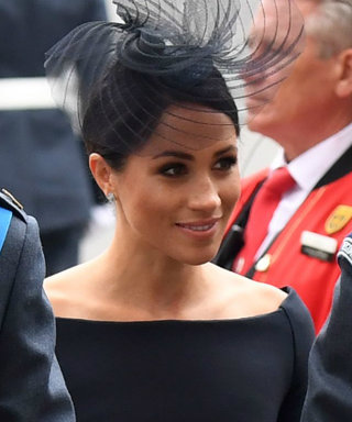 Meghan Markle Is Back in Black for the First Time Since the Royal Wedding