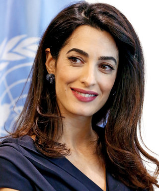Amal Clooney Shows Us The Unexpected Item to WearUnder Short Dresses