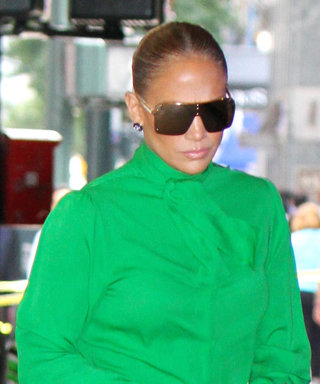 Jennifer Lopez Can't Stop Wearing This Stylish, Work-Appropriate Blouse