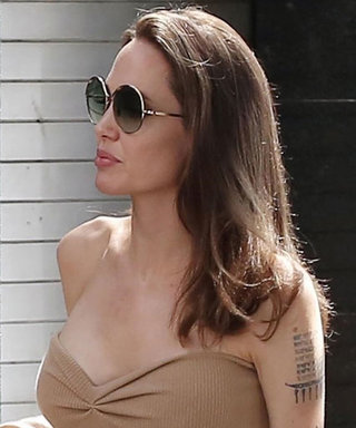 Angelina Jolie Found an Easy (and Stylish) Way to Wear Summer Dresses During Fall