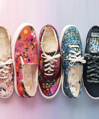 This Keds Collaboration Is Like a Garden Party for Your Feet