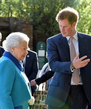 Prince Harry and Queen Elizabeth lead