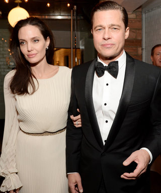 Angelina and Brad lead