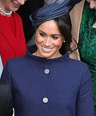 Meghan Markle Went to Princess Eugenie's Wedding in the Most Regal Outfit She's Ever Worn