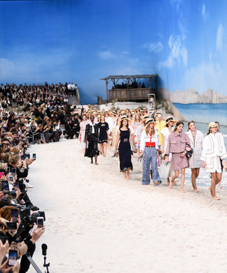 Chanel Wins The Prize for Best Beach Party of Paris