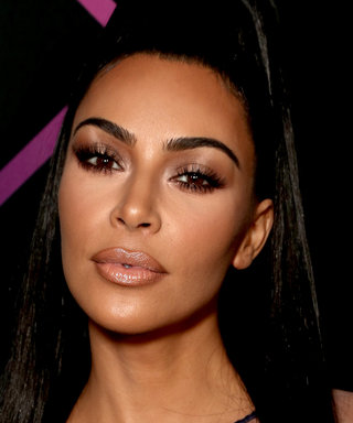 Kim Kardashian's Fully Sheer People's Choice Dress Sent a Subtle Message