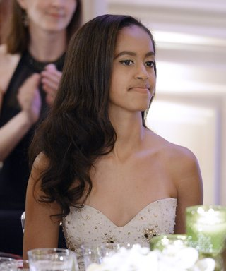 """Malia Obama Asked Barack and Michelle to """"Be Chill"""" in Front of Her Prom Date"""