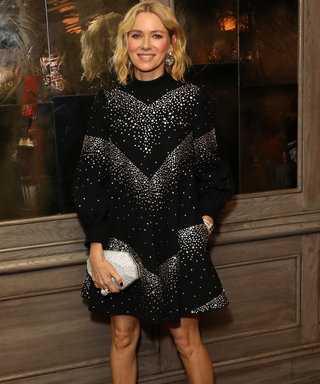 Naomi Watts Talks London, Sparkles, and a Hot New Designer