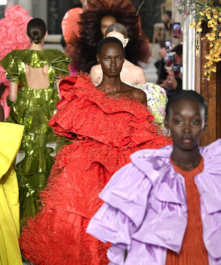 Here's Why People Left the Valentino Couture Show in Tears