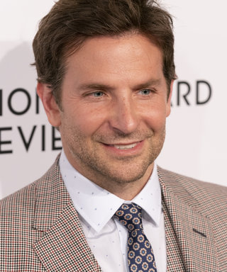 Bradley Cooper wearing suit by Gucci attends National Board...