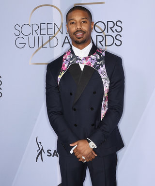 Michael B. Jordan Is on Board with This 50 Shades of Grey-Inspired Fashion Trend