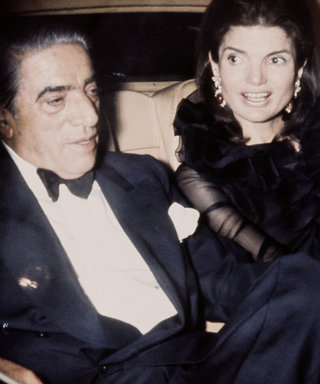 Jackie Kennedy with Aristote Onassis