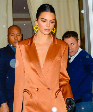 Kendall Jenner Boldly Wore a Blazer With No Pants (or Shirt)