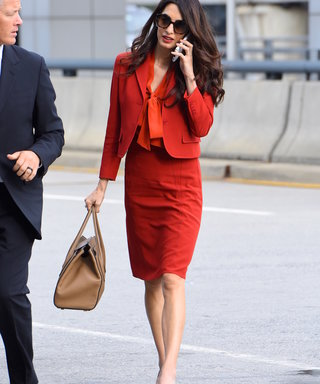 7 of Amal Clooney's Favorite Work Bags