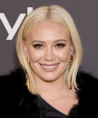 Hilary Duff Ditched Her Platinum Blonde Hair for Spring