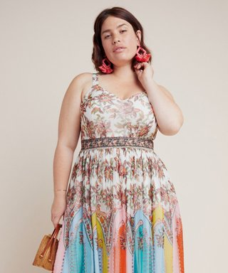 People Are Losing It Over Anthropologie's First Ever Plus-Size Collection