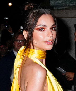Emily Ratajkowski Wore the Ultimate Plunge Gown to Marc Jacobs's Wedding