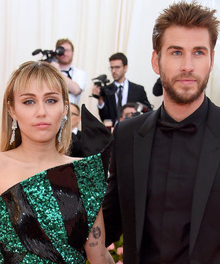 Miley Cyrus and Liam Hemsworth Make a Tenuously On-Theme Met Gala Debut