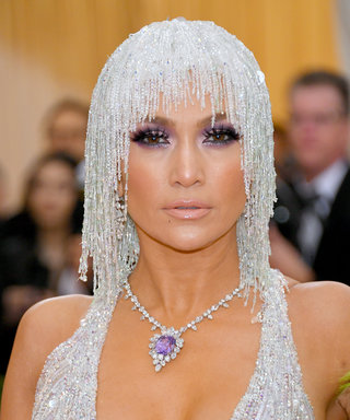 Jennifer Lopez's Versace Gown Had the Perfect Slit for Showing a Little Leg