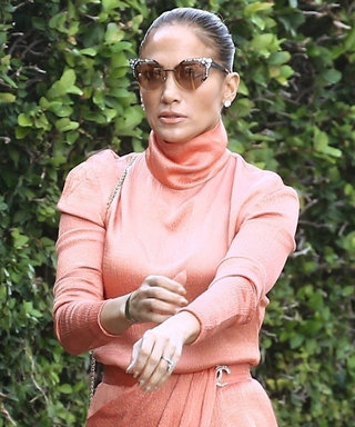 Jennifer Lopez Has the Perfect Underwear Solution for Silky Dresses