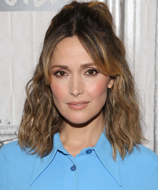 Rose Byrne Looks So Different With Platinum Blonde Hair