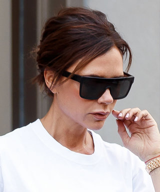 Victoria Beckham Shows Us Exactly How to Make a Basic T-Shirt Look Like a Work of Art