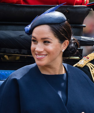 LONDON, ENGLAND - JUNE 08:  Meghan, Duchess of Sussex rides by carriage down the Mall during Trooping The Colour, the Queen's annual birthday parade, on June 08, 2019 in London, England. (Photo by Samir Hussein/Samir Hussein/WireImage)