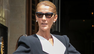 Celine Dion Pulled a Carrie Bradshaw in Paris with Mismatched Stilettos