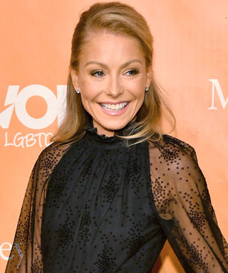 Kelly Ripa Demonstrates an Elegant Way to Wear Sheer Dresses