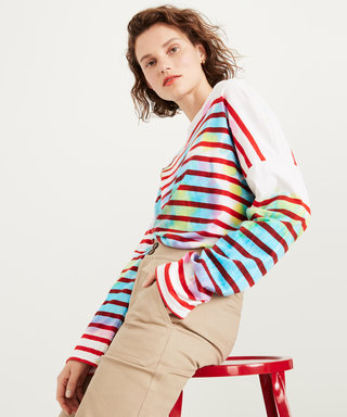 J.Crew Is Tie-Dying Its Iconic Striped Tees for Summer