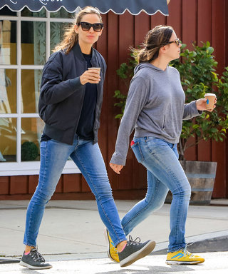 The Comfy Sneakers Every Celeb Loves Look Completely Different Now