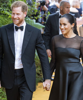 Meghan Markle Stuns in a Sheer Jason Wu Dress at The Lion King Premiere with Prince Harry