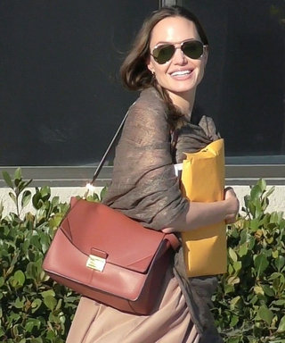 Angelina Jolie's Go-To Work Bag Might Be the Smartest Investment For Fall