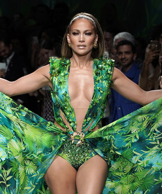Alex Rodriguez Is Still Swooning Over Jennifer Lopez's Versace Runway Moment