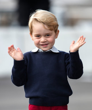 VICTORIA, BC - OCTOBER 01:  (NO UK SALES FOR 28 DAYS) Prince George of Cambridge departs Victoria on October 1, 2016 in Victoria, Canada.  (Photo by Pool/Sam Hussein/WireImage)