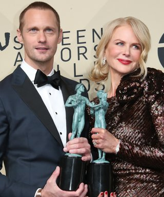 Alexander Skarsgard and Nicole Kidman SAG Awards