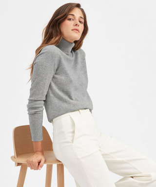 Everlane's $100 Cashmere Sweaters Are Back— But Only For a Few Hours