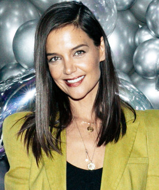 Katie Holmes Just Wore a Bralette With the Wildest Leather Pants