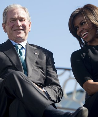 Michelle Obama & George W. Bush Friendship