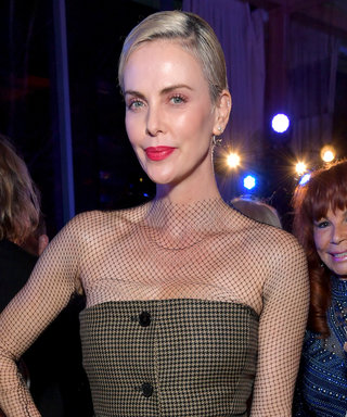 Get Ready, Because Charlize Theron Is Making Fishnet Turtlenecks Happen