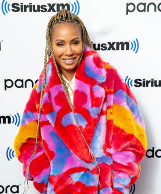 Jada Pinkett Smith's Natural Curls Take Her Platinum Blonde Pixie Cut To a New Level
