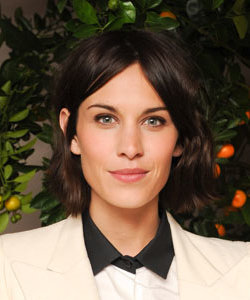 CELEB HAIR: Bye bye dip-dye, Alexa Chung goes for all-over colour!