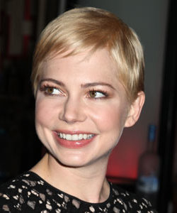 Celeb hair news: Michelle Williams goes for the mega crop!