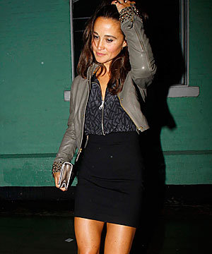 Pippa Middleton parties at Chelsea's Private nightclub